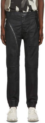 Rick Owens Black Aircut Jogger Jeans