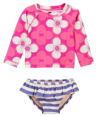 Tea Collection Curl Curl Baby Swim Set (Baby Girls)