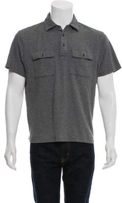 Michael Kors Knit Polo Shirt