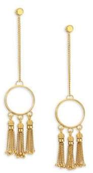 Chloé Lynn Chain Fringe Drop Earrings