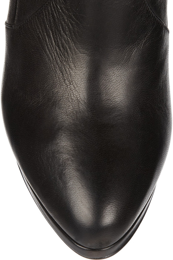 Casadei Stretch-leather over-the-knee boots