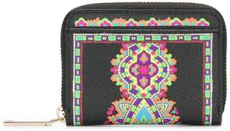 Etro all-around zipped wallet