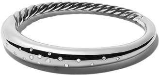 David Yurman Pure Form smooth diamond bangle