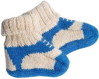 Oeuf Sneakers Baby Alpaca Knit Socks
