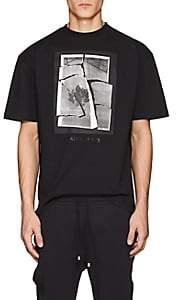 Filling Pieces Men's Ad-Print Cotton Short-Sleeve T-Shirt-Black