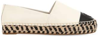 Tory Burch 20mm Color Block Leather Espadrilles