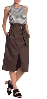 Fly London Dress Forum Button Midi Skirt
