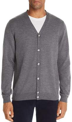 Bloomingdale's The Men's Store at Merino Wool V-Neck Cardigan - 100% Exclusive