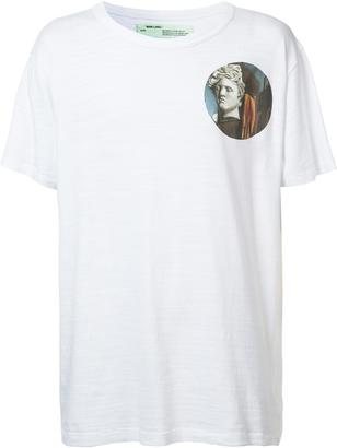 Off-White circular prints T-shirt $299 thestylecure.com