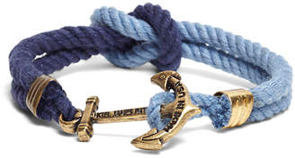 Brooks Brothers Kiel James Patrick Navy and Blue Triton Bracelet