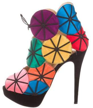 Charlotte Olympia Parasol Booties
