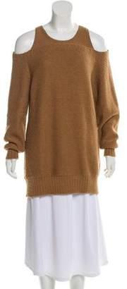 Zero Maria Cornejo Wool Cold-Shoulder Sweater w/ Tags