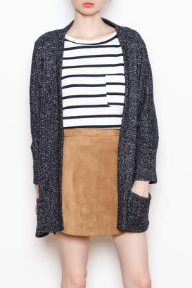 Cupcakes And Cashmere Gunnar Open Cardigan