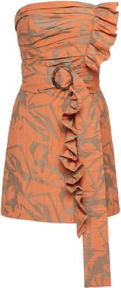 Alexis Nokoma Strapless Cotton Mini Dress