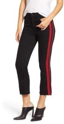 Pam & Gela Side Stripe Crop Jeans