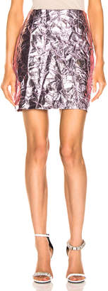 Sies Marjan Desiree Crinkle Mini Skirt in Soft Pink | FWRD