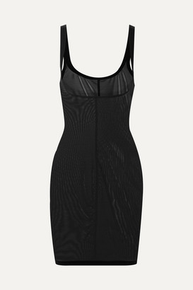 Wolford Forming Stretch-tulle Slip - Black