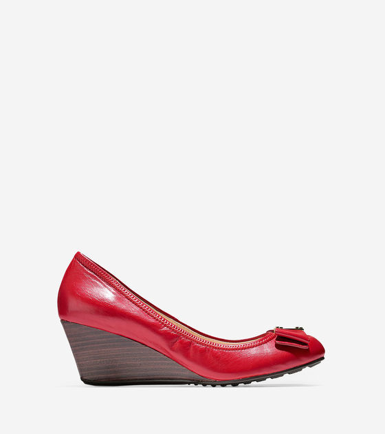 Cole Haan Tali Grand Bow Wedge (65mm)