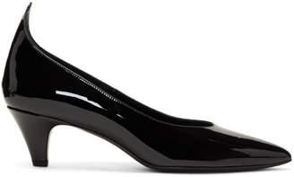 Calvin Klein Black Patent Kait Heels
