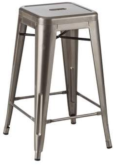 Trent Austin Design Dotsero Industrial 26 Metal Stool