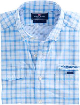 Vineyard Vines Hawksbill Plaid Harbor Shirt