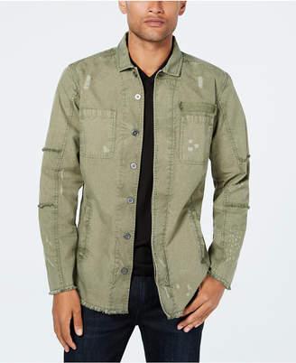 INC International Concepts Inc Men's Captain Utility Shirt, Created for Macy's
