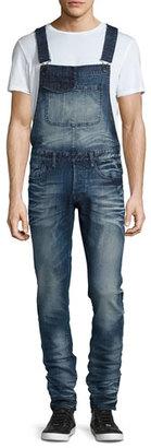 PRPS Windsor Skinny Coveralls, Indigo $375 thestylecure.com