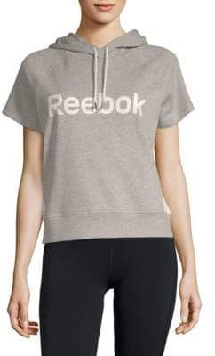 Reebok Throwback Short-Sleeve Hoodie