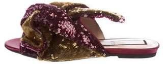 No.21 No. 21 Embellished Knot Sandals