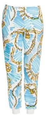 Moschino Chain Link Trousers