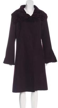 Giuliana Teso Cashmere Lamb Coat