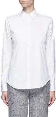 Theory 'Tenia' stretch cotton blend shirt
