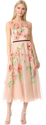 Lela Rose Floral Embroidered Dress $3,995 thestylecure.com
