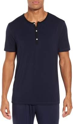Daniel Buchler Modal Blend Henley T-shirt