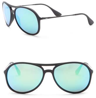 Ray-Ban Alex Youngster 59mm Pilot Sunglasses