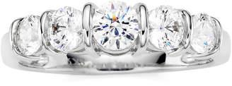 JCPenney MODERN BRIDE 1 CT. T.W. Diamond 10K White Gold 5-Stone Ring
