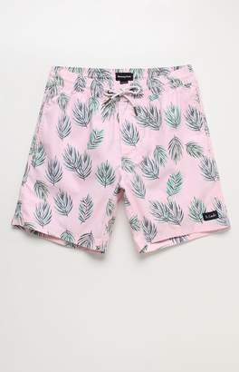 "Barney Cools Amphibious 17"" Pink Swim Trunks"