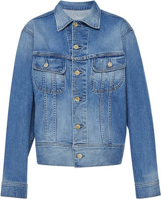 Oscar de la Renta Embellished Denim Jacket