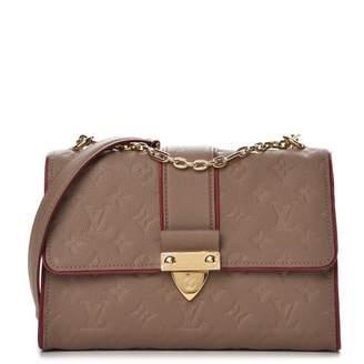 Louis Vuitton Flap Saint Sulpice Monogram Empreinte PM Taupe Glace/Burgundy