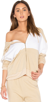 Wildfox Couture Basics Hoodie $140 thestylecure.com