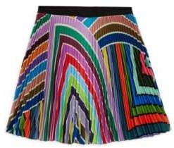 Milly Minis Toddler's, Little Girl's& Girl's Rainbow Pleated Skirt