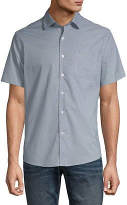 Claiborne Untucked Button-Down Slim Fit Shirt