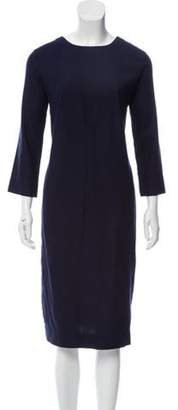 Heidi Merrick Bimini Midi Dress Navy Bimini Midi Dress