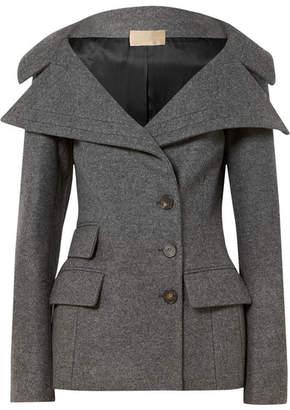 Antonio Berardi Wool-blend Felt Jacket
