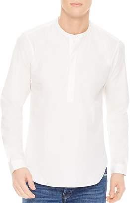 Sandro Tunic Classic Fit Button-Down Shirt