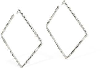 8928eb6bea2ea Large Silver Hoop Earrings - ShopStyle UK