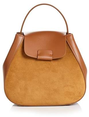 Nico Giani Myria Medium Leather & Suede Crossbody