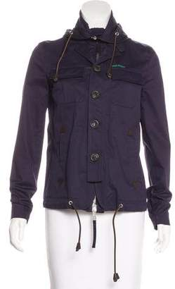 DSQUARED2 Hooded Twill Jacket