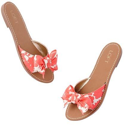 LOFT Valencia Bow Sandals