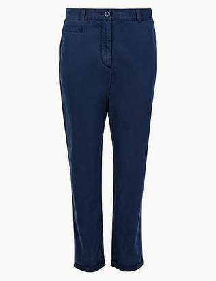 Marks and Spencer Pure Cotton Tapered Leg Chinos